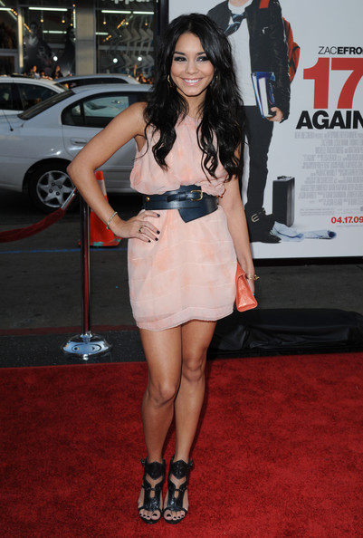 "Vanessa Hudgens Los Angeles Premiere of ""17 Again"".Grauman's Chinese Theatre"