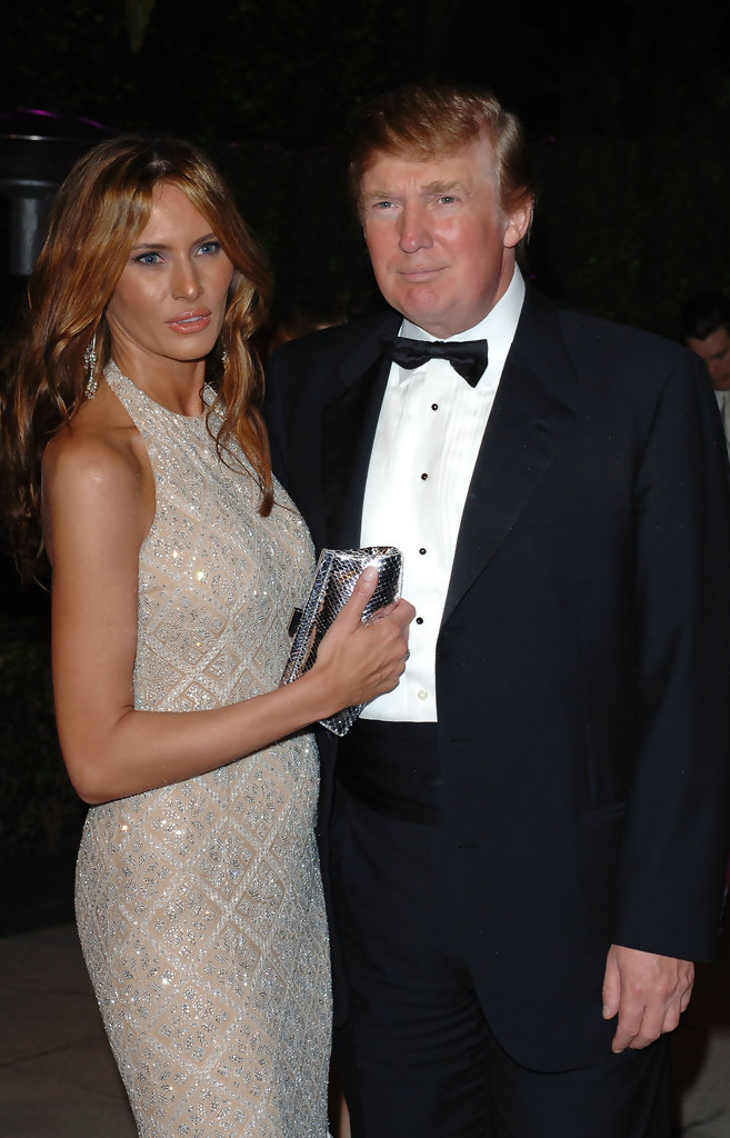 Melania Trump Photos Photos 2005 Vanity Fair Oscar Party