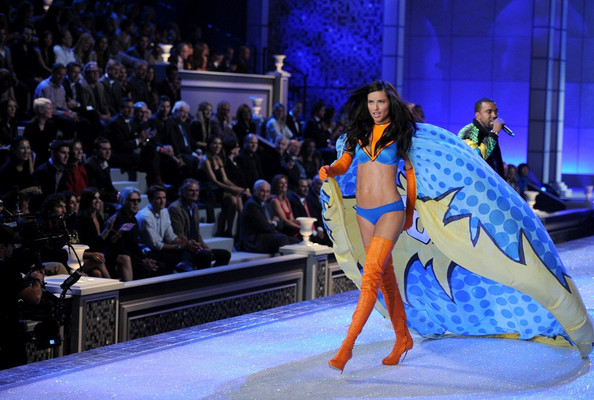 Adriana+Lima in 2011 Victoria's Secret Fashion Show