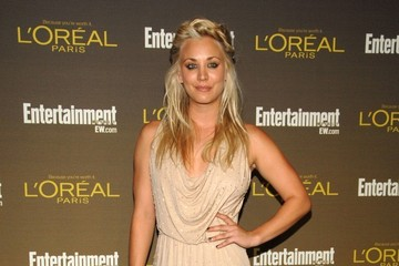 New Pictures: Kaley Cuoco Charms on the Red Carpet Before the Emmys