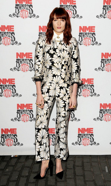 Florence+Welch in 2012 NME Awards