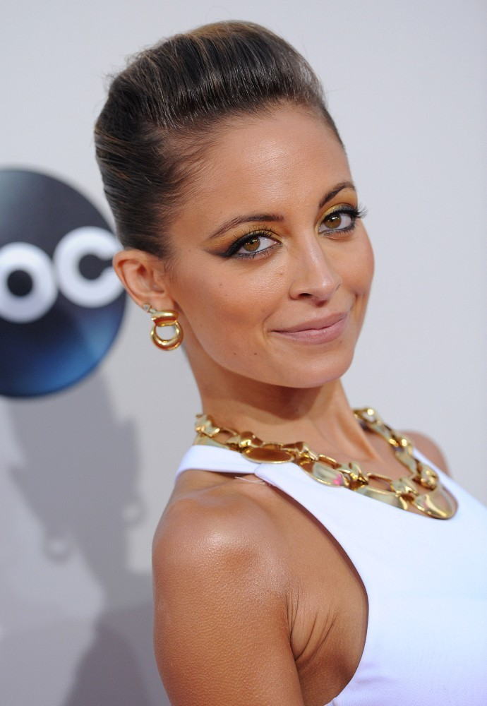 Red carpet arrivals at the 2013 American Music Awards at the Nokia Theatre L.A. Live in Los Angeles on November 24, 2013. Pictured: Nicole Richie.