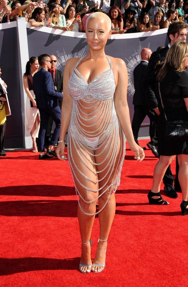 Amber Rose Photos Photos Arrivals At The Mtv Video Music