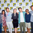 Carlos Valdes and Candice Patton Photos
