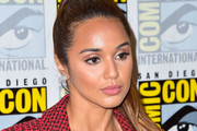 Summer Bishil is seen attending 'The Magicians' Photo Call during Comic-Con International at Hilton Bayfront in San Diego, California.
