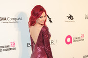 Farrah Abraham is seen arriving to the 26th Annual Elton John AIDS Foundation's Academy Awards Viewing Party held at West Hollywood Park in Los Angeles, California.