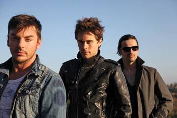 Jared Leto 30 Seconds to Mars promo shots