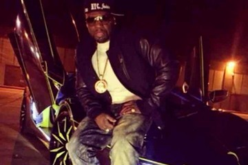 50 Cent Celebrity social network pictures