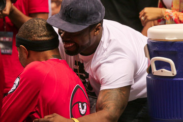 50 Cent Stars Hit the Big3 Basketball Game