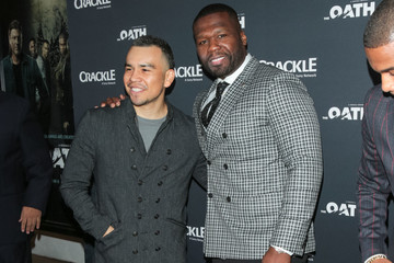 50 Cent 'The Oath' Premiere At Sony Theatre In Culver City
