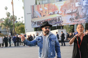 AJ McLean Outside The Hollywood Highland Center In Hollywood