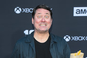Doug Benson is seen attending AMC Celebrates The 100th Episode of 'The Walking Dead' at The Greek Theatre in Los Angeles, California.