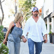 Aaron Phypers Denise Richards And Aaron Phypers Seen In Los Angeles