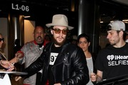 Aaron Taylor Johnson Seen at LAX