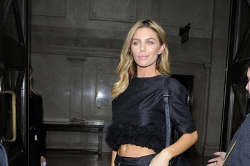 Abbey Clancy Celebs at London Fashion Week — Part 3