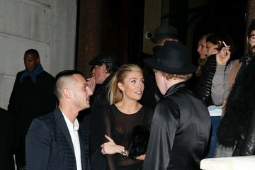 Abigail Clancy Abigail Clancy Leaves Kate Moss's Book Launch Party