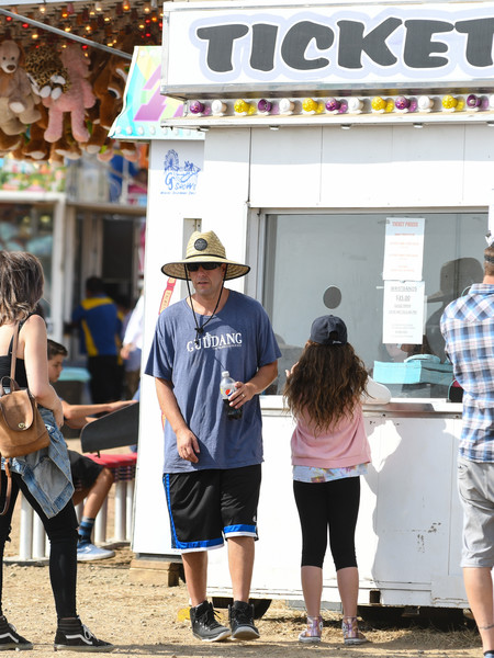 Adam Sandler Attends the Malibu Chili Cook-Off