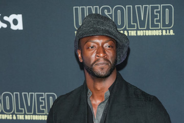 Aldis Hodge Premiere Of USA Network's 'Unsolved: The Murders Of Tupac And The Notorious B.I.G.'