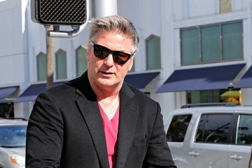 Alec Baldwin Alec Baldwin Spends the Day with Family