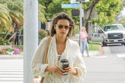 Alessandra Ambrosio and Son Noah Go Out