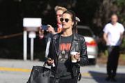 Alessandra Ambrosio is seen in Los Angeles, California on March 7, 2019.