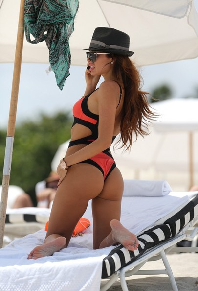 Alessandra Sorcinelli Hits the Beach