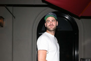 Alex Pall Outside Craig's Restaurant In West Hollywood