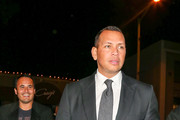 Alex Rodriguez Dines Out at Craig's Restaurant in West Hollywood