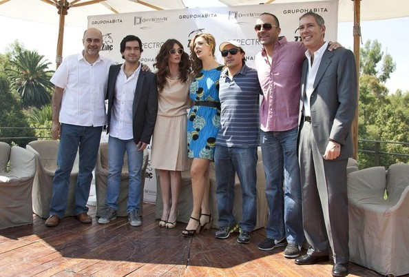 Paz Vega and the Cast of 'Ghost'