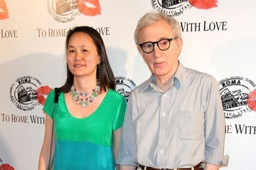 Soon Yi Woody Allen at the 'To Rome With Love' Photocall