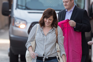 Allison Tolman 'Fargo' Star Allison Tolman on the Set of 'Jimmy Kimmel Live'