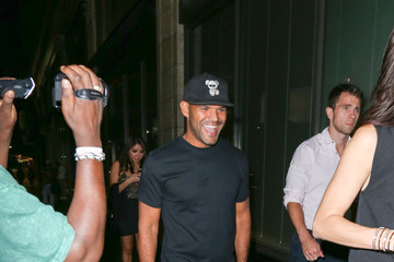 Amaury Nolasco Celebrity Sightings at Katsuya Restaurant