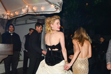 Amber Heard Amber Heard Outside Chateau Marmont In West Hollywood