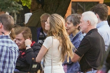 Amber Heard Johnny Depp and Amber Heard on Set