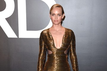 Amber Valletta Celebs at the Tom Ford 2015 Womenswear Presentation