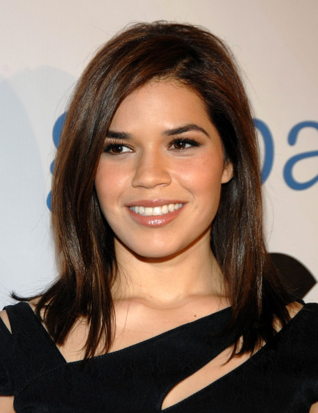 america ferrera hair color. makeup America Ferrera Is