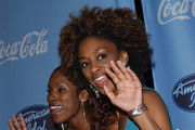 American Idol Top 12 finalists party.Astra West, Pacific Design Center, West Hollywood, CA.March 9, 2005.