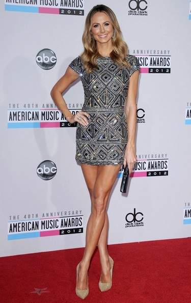 The 40th Anniversary American Music Awards..Nokia Theatre L.A. Live, Los Angeles, CA..November 18, 2012..Job: 121118A1..(Photo by Axelle Woussen)..Pictured: Stacy Keibler.