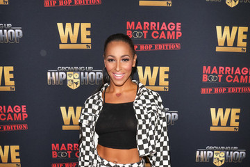 Amina Buddafly WE tv Celebrates The Premiere Of Marriage Boot Camp: Hip Hop Edition And Growing Up Hip Hop