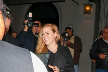 Amy Adams Alice Amter Is Seen Outside Craig's Restaurant In West Hollywood