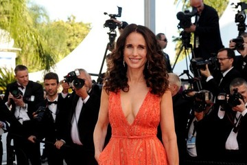 Andie MacDowell 'Inside Out' Red Carpet - The 68th Annual Cannes Film Festival