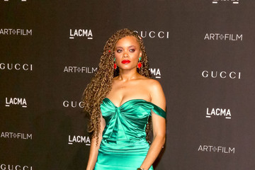 Andra Day 2018 LACMA Art Film Gala Honoring Catherine Opie And Guillermo Del Toro Presented By Gucci