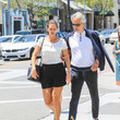 Andrea Bocelli Andrea Bocelli And Veronica Berti Step Out In Beverly Hills