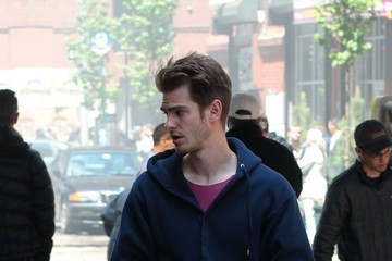 Andrew Garfield 'The Amazing Spider-Man 2' Films in Brooklyn