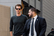 Andrew Garfield Is Seen at 'Jimmy Kimmel Live'