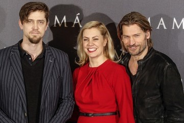 Andy Muschietti Nikolaj Coster-Waldau at the 'Mama' Photo Call