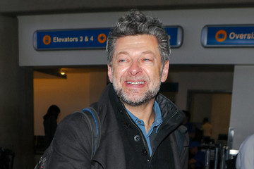 Andy Serkis Andy Serkis At LAX Airport