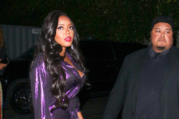 Angela Simmons Angela Simmons Outside Nightingale Nightclub In West Hollywood