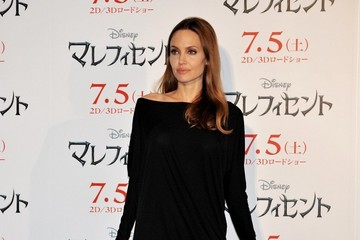 Angelina Jolie 'Maleficent' Press Conference in Tokyo