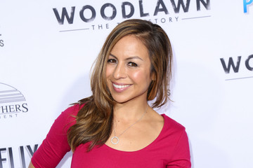 Anjelah Johnson Celebrities Arrive at the 'Woodlawn' Premiere